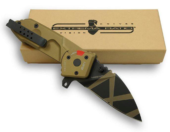 Фото 3 - Складной нож Extrema Ratio MF0 Desert Warfare, сталь N690, рукоять алюминий