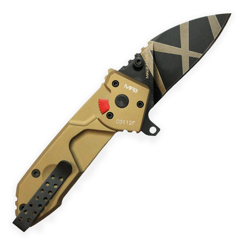 Фото 4 - Складной нож Extrema Ratio MF0 Desert Warfare, сталь N690, рукоять алюминий