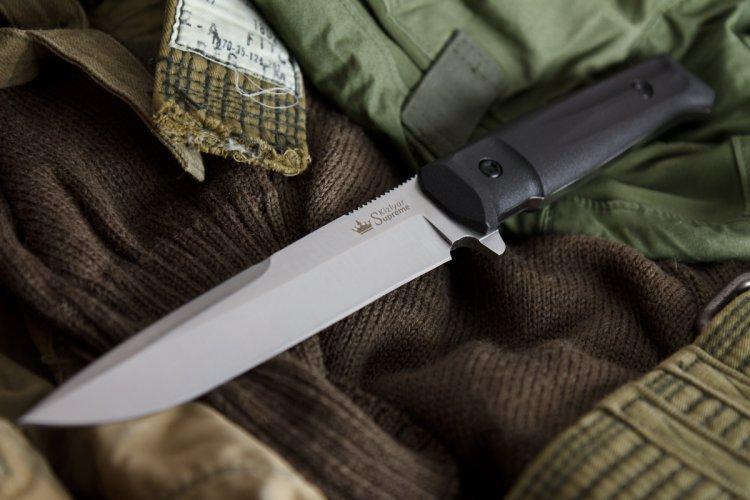 Фото 3 - Тактический нож Delta AUS-8 Satin+SW, Кизляр от Kizlyar Supreme