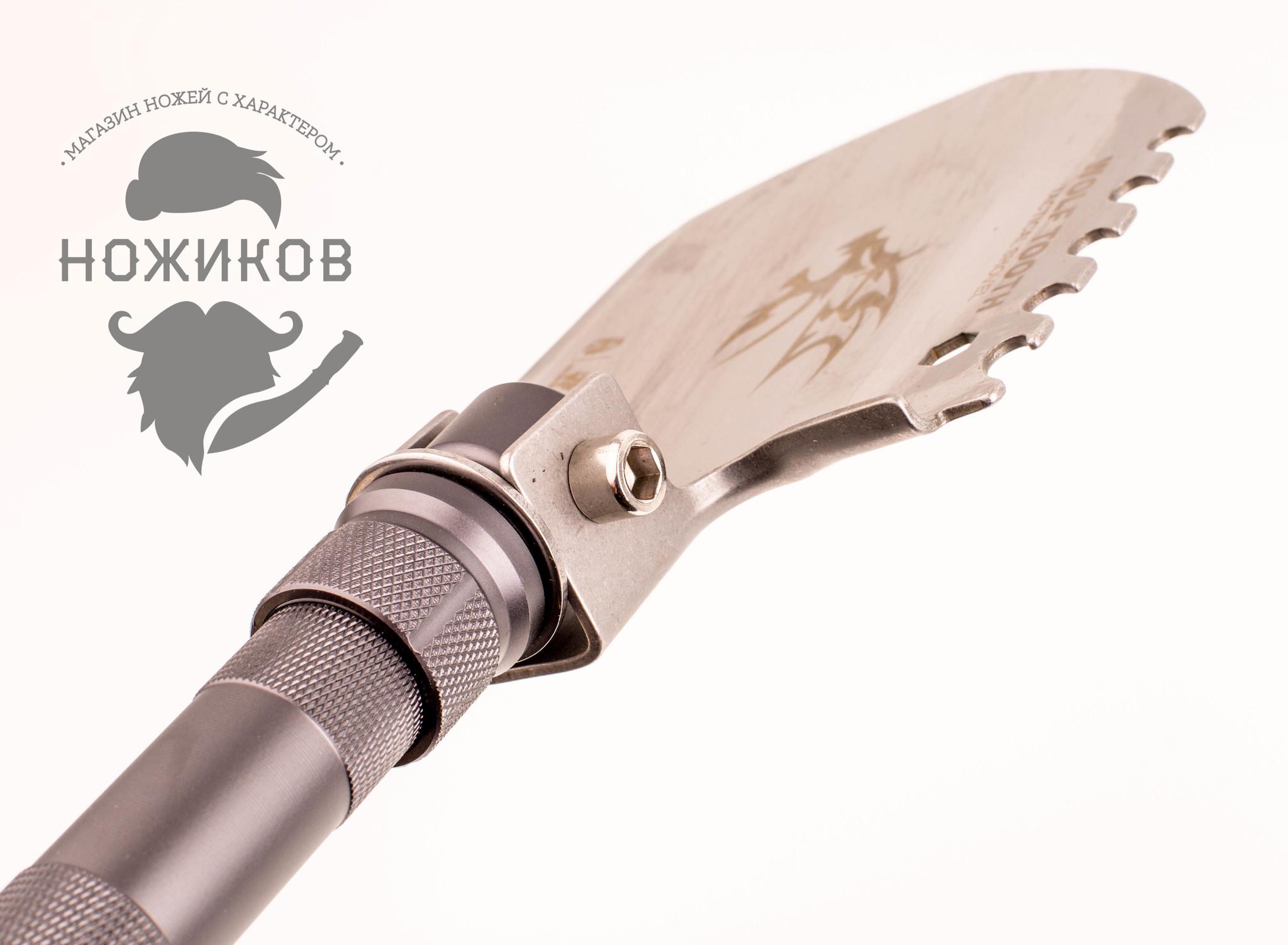 Фото 19 - Многофункциональная лопата для выживания HX Outdoor 19-в-1 от Noname