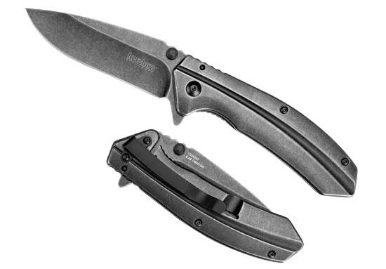 Нож складной KERSHAW FilterРаскладные ножи<br>Новая модель от компании Кершоу 1306BW Filter обладает универсальной формой клинка, четкой геометрией и покрытием BlackWash. С помощью этого покрытия лезвие и рукоять ножа защищены от потертостей, также царапин, которые могут возникнуть во время эксплуатации. Цельнометаллическая конструкция рукояти гарантирует высокую прочность, а ее форма надежность и цепкость хвату. Filter снабжен запатентованной системой быстрого открытия SpeedSafe®, которая помогает быстро и легко привести нож в рабочее состояние. Для скрытного ношения ножа в кармане брюк или в кармане рюкзака на нем предусмотрена металлическая клипса.<br><br>Производитель: KERSHAW<br>Сталь: 3Cr13MOV покрытие BlackWash<br>Рукоять: нержавеющая сталь с покрытием BlackWash<br>Система открытия клинка: полуавтоматическая SpeedSafe<br>Замок: фрэйм-лок<br>Длина лезвия: 8,3 см.<br>Общая длина: 21,6 см.<br>Вес: 143 гр.<br>Снабжен переставляемой металлической клипсой.<br>