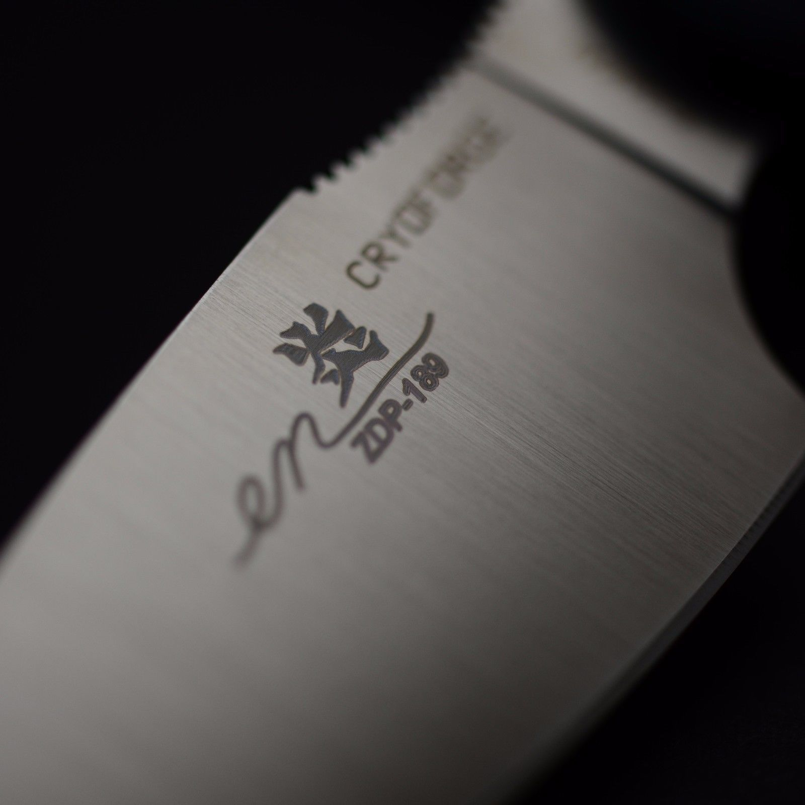 Фото 3 - Туристический нож G.Sakai, Camper En Fixed, ZDP-189, Black G-10