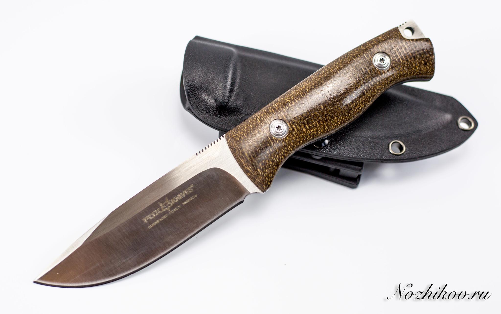 Туристический нож Fox Tactical , сталь D2D2<br><br>