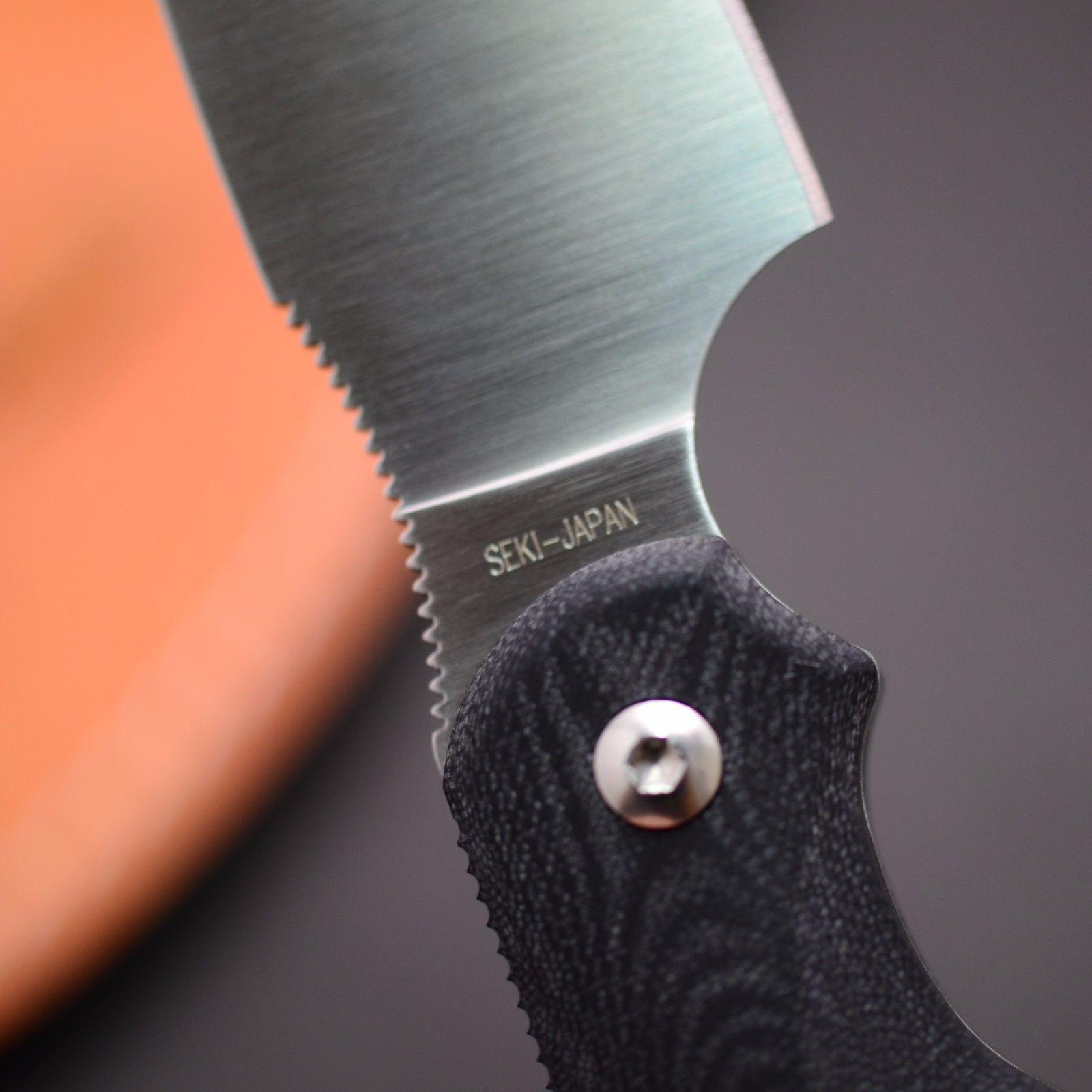 Фото 4 - Туристический нож G.Sakai, Camper En Fixed, ZDP-189, Black G-10