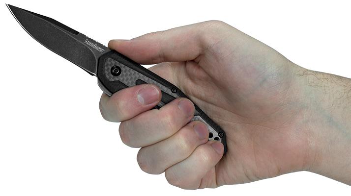 Фото 3 - Нож складной Fraxion - Kershaw 1160 (Jens Anso Design), сталь 8Cr13MOV, рукоять G-10/карбон
