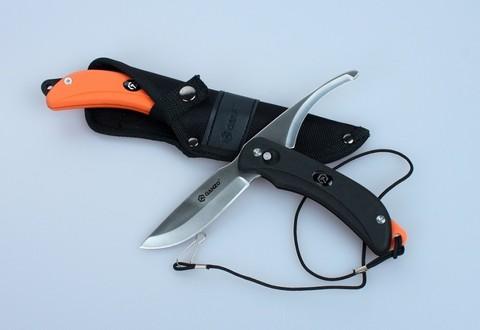 Нож Ganzo G802 с двумя клинками, черный - Nozhikov.ru