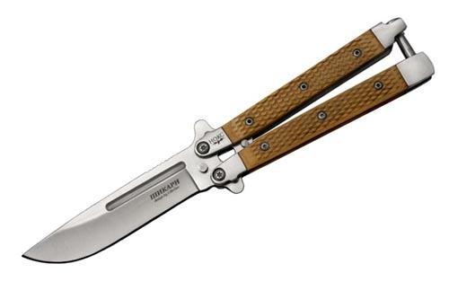 Нож бабочка Шикари