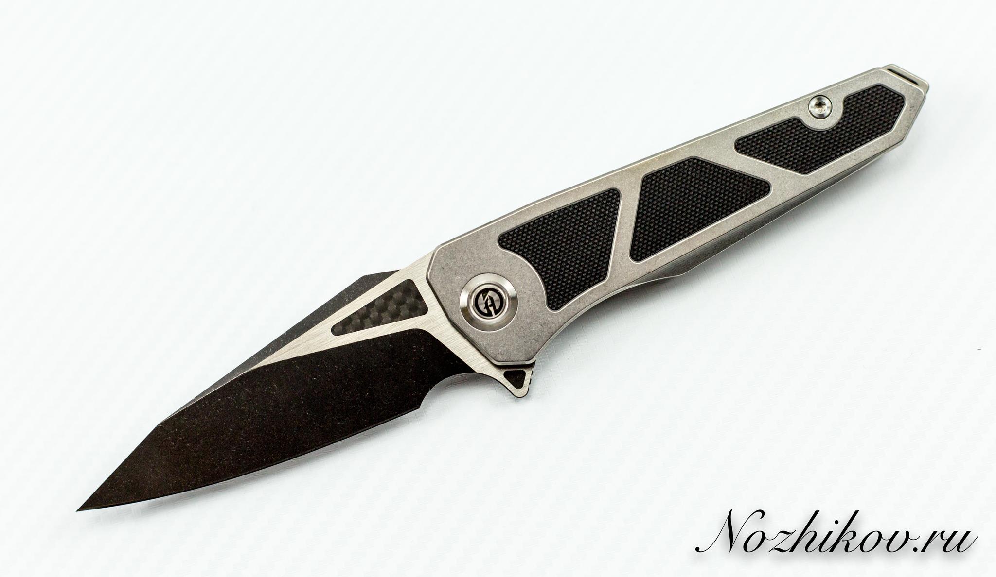 Складной нож Maxace Lanius Black, сталь 14C28NРаскладные ножи<br><br>