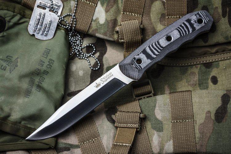 Фото 2 - Нож Enzo AUS-8 Satin от Kizlyar Supreme