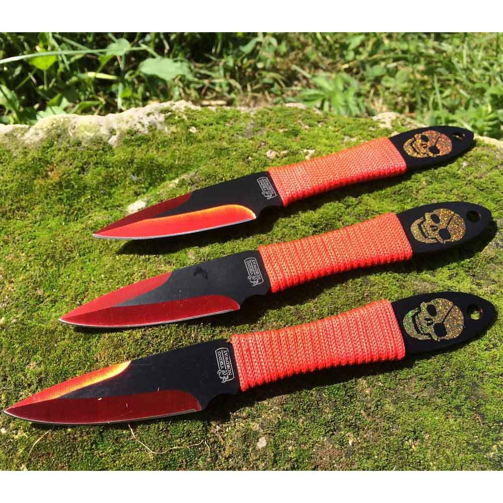 Набор метательных ножей Веселый роджер, Viking Nordway