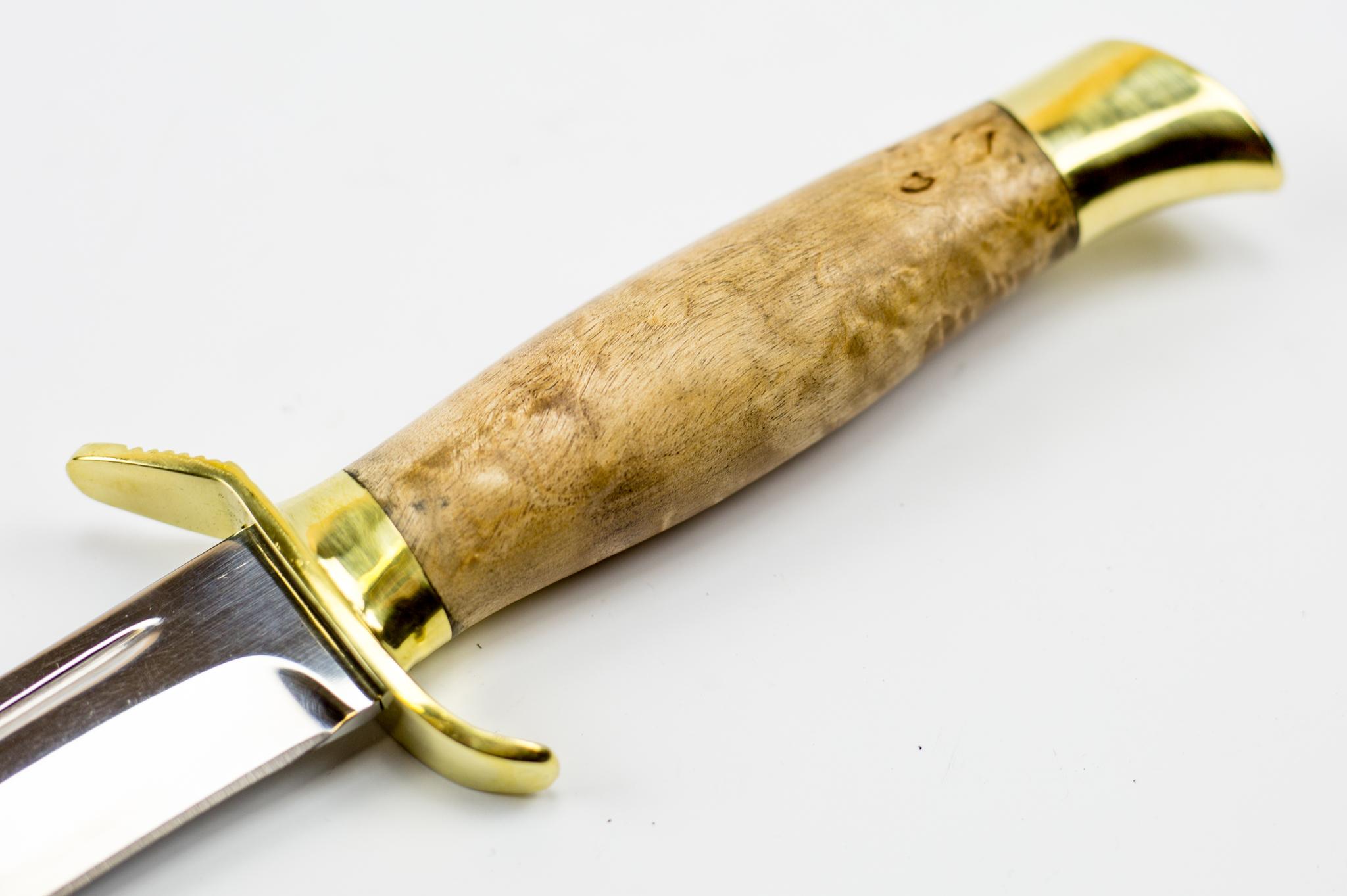 Фото 3 - Нож НР-40, карельская береза от Мастерская Климентьева
