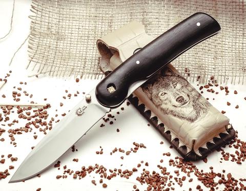 Складной нож «Амур» из нержавеющей стали 95Х18 - Nozhikov.ru
