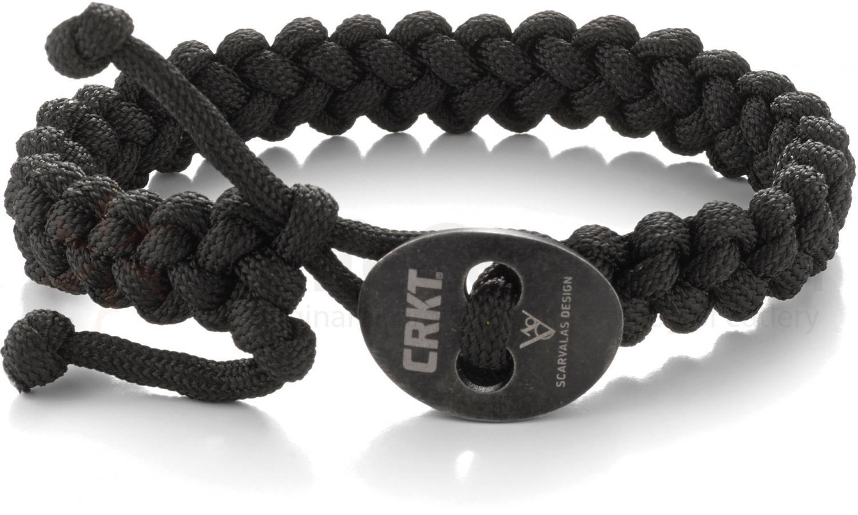 Браслет из паракорда большой Jason Scarvalas Design, Quick Release Paracord Survival Bracelet - Large survival nylon bracelet brown