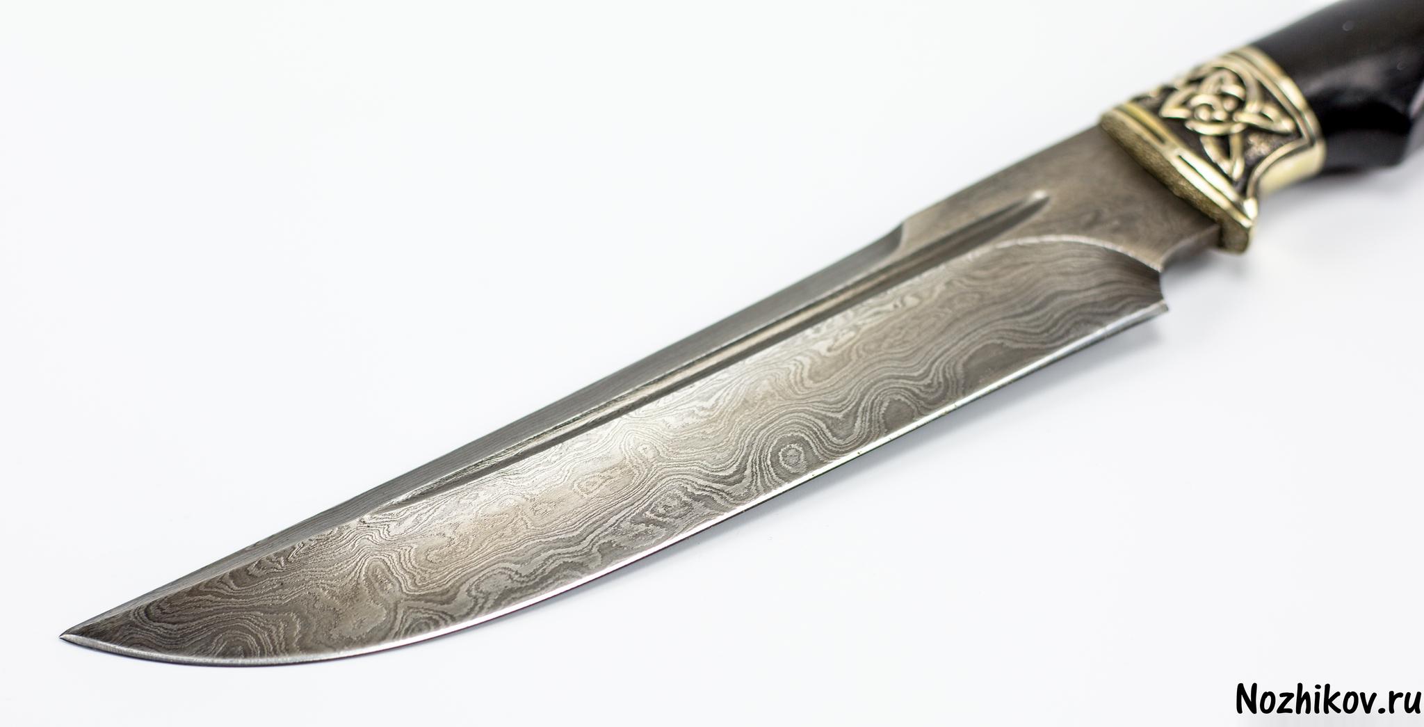 Фото 3 - Авторский Нож из Дамаска №18, Кизляр от Noname