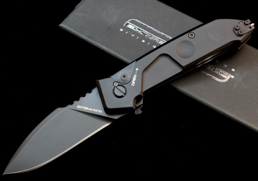 Фото 2 - Автоматический складной нож MF1 Full Auto (Double Edge), сталь Bhler N690, рукоять алюминий от Extrema Ratio