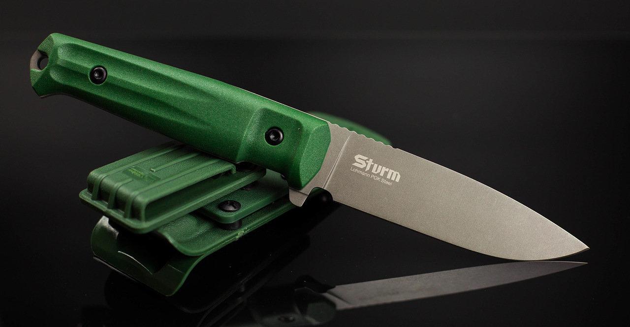 Фото - Тактический нож Sturm PGK DSW олива, Кизляр от Kizlyar Supreme