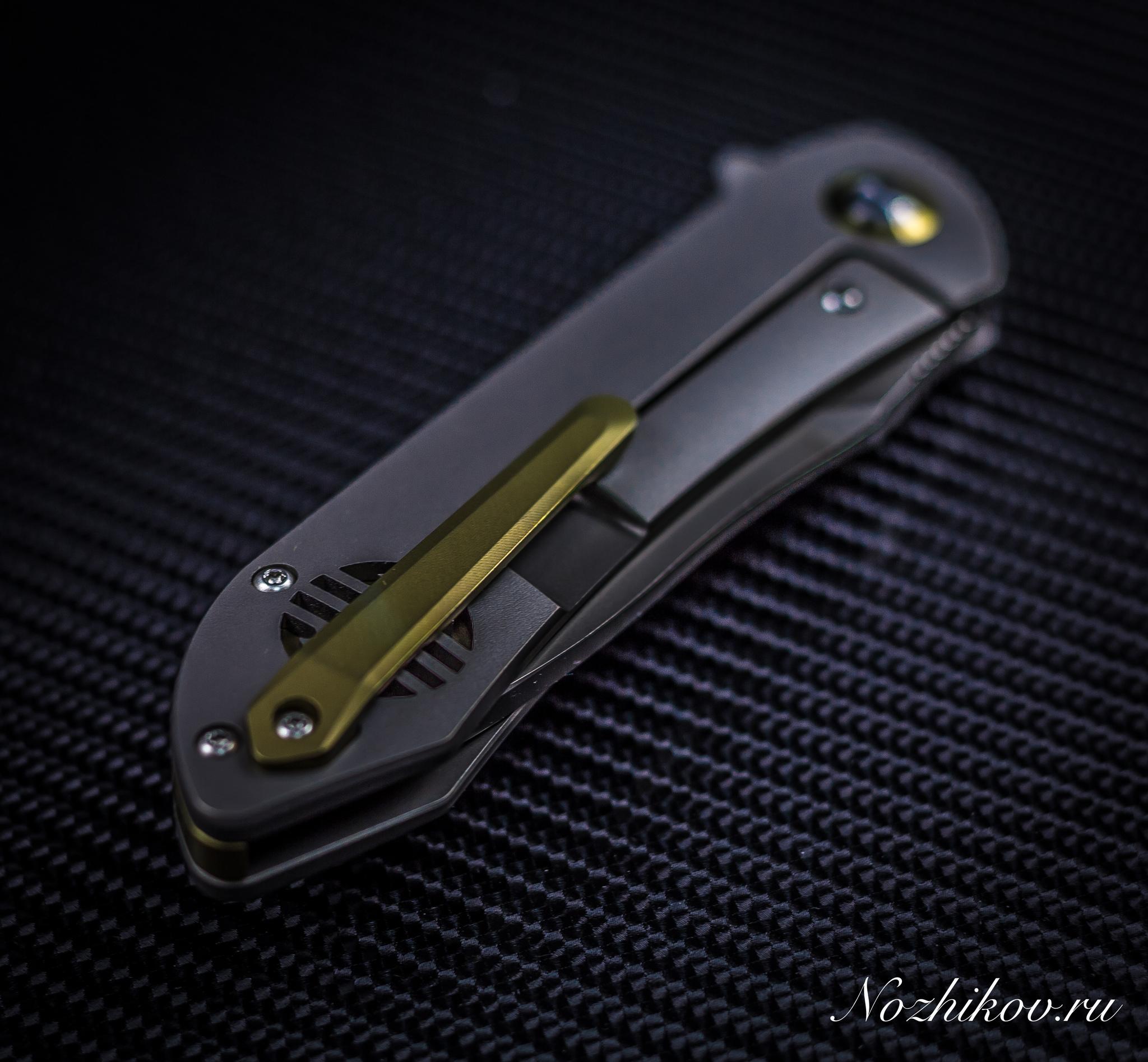 Фото 8 - Складной нож Bestech Knives BT1703A, сталь CPM-S35VN, рукоять титан