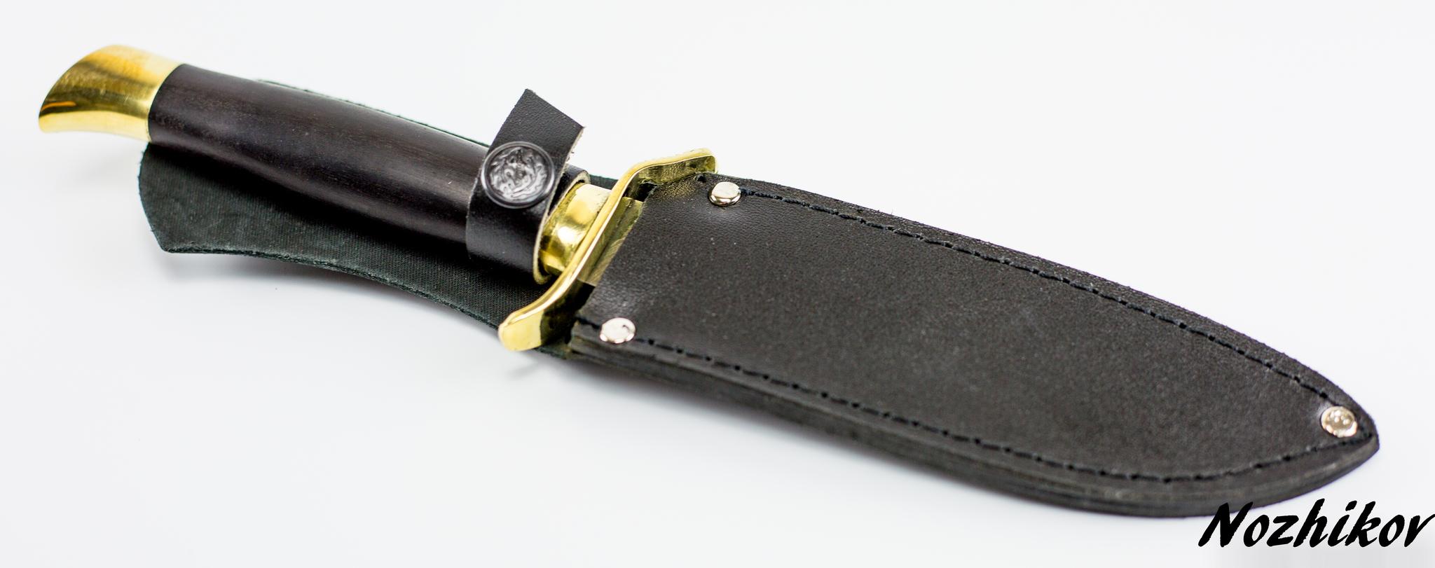 Фото 5 - Нож НР-40, сталь дамаск, граб от Промтехснаб
