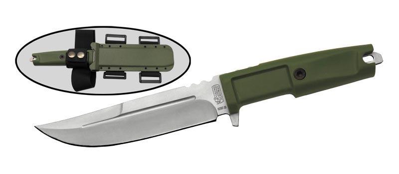 Тактический нож H2007-28Тактические ножи<br>Oбщая длина- 288 ммДлина клинка- 155 ммТолщина клинка- 5,2 ммСталь- 440, Рукоять- пластикЧехол- пластик<br>
