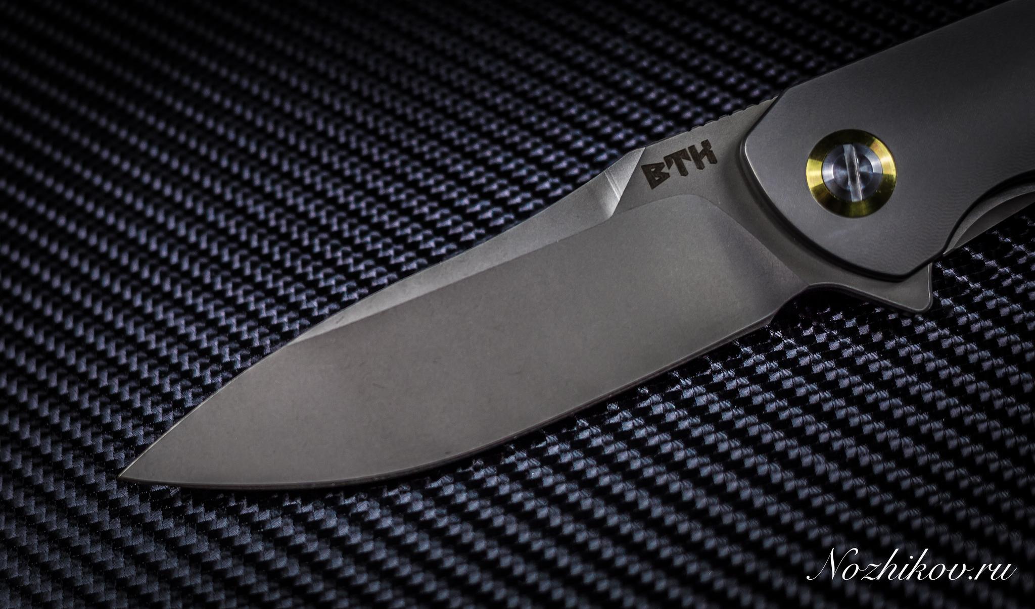 Складной нож Bestech Knives BT1703A, сталь CPM-S35VN, рукоять титан