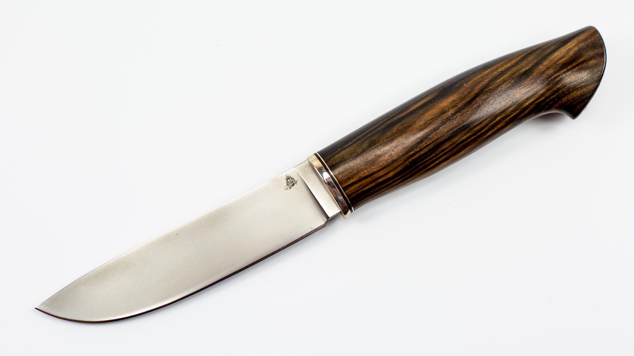 Нож Скинер, CPM S30V, эбеновое дерево от ПФК Витязь
