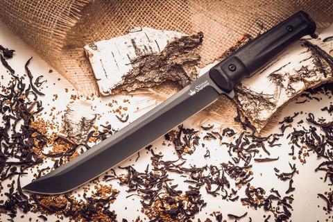 Туристический нож Sensei D2 BT, Кизляр - Nozhikov.ru