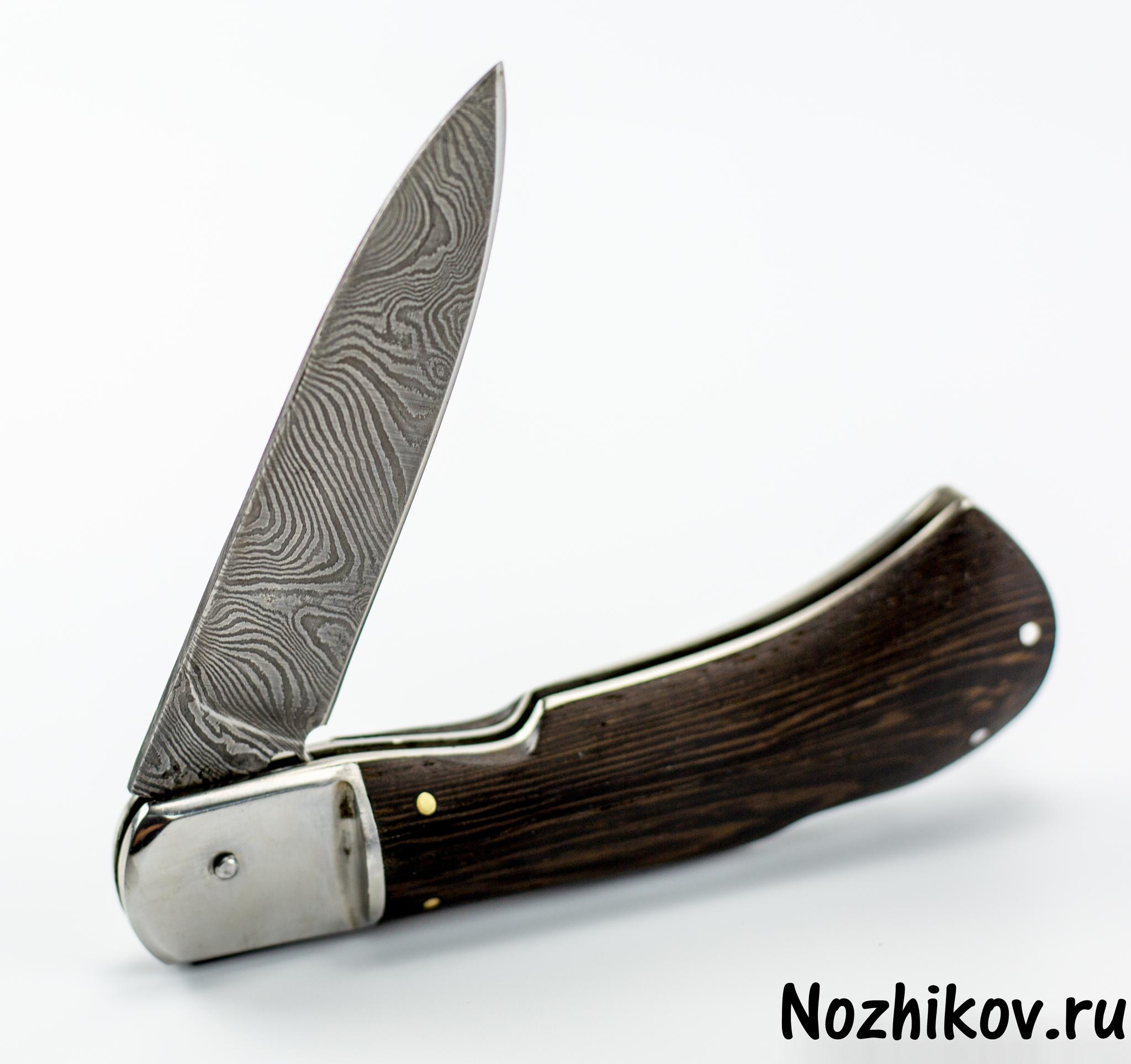 Выкидной нож Сталкер, дамаск