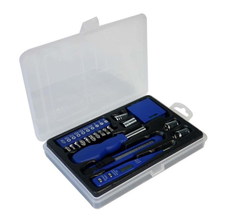 Набор инструментов Stinger W0504, 19 предметов, пластиковый кейс набор инструментов sata 150 предметов 09510