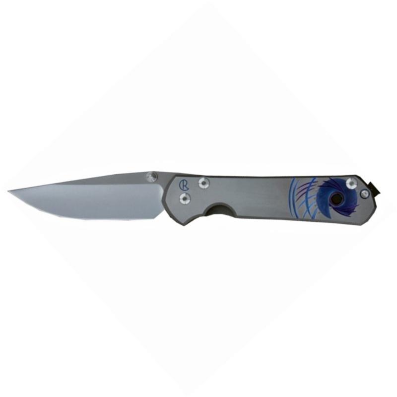 Фото 5 - Нож складной Large Sebenza 21 Unique Graphics-2 от Chris Reeve