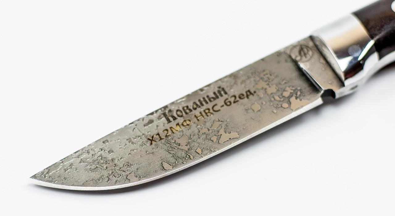 Фото 7 - Нож Тигр малютка цмт, сталь Х12МФ, граб от Ножи Фурсач
