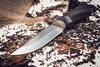 Нож Курган черный граб - Nozhikov.ru