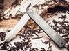 Нож складной, клинок 80мм Hight carbon, рукоять черная - Nozhikov.ru
