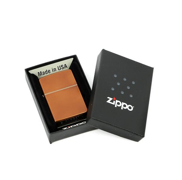 Фото 3 - Зажигалка ZIPPO Classic с покрытием Toffee™, латунь/сталь, светло-коричневая, матовая, 36x12x56 мм