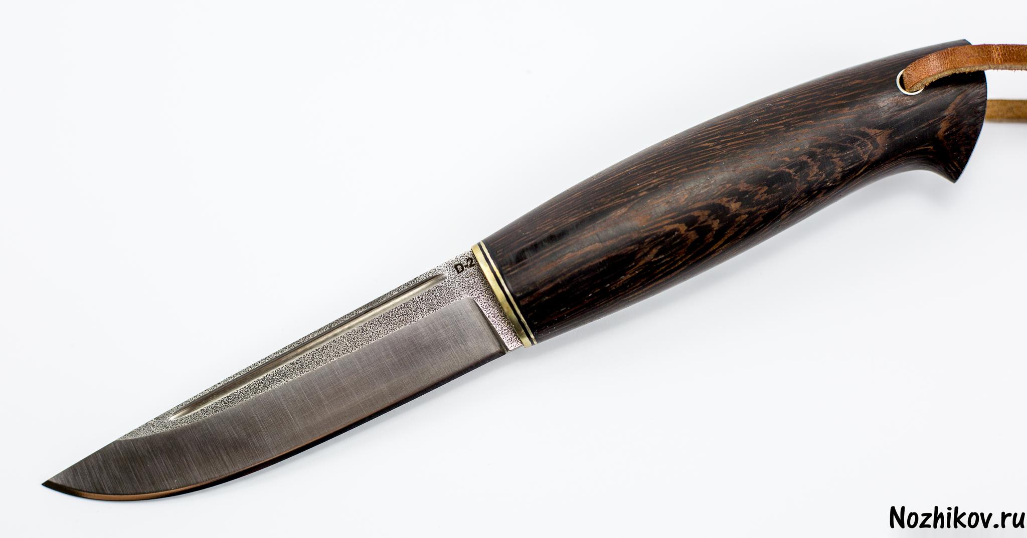 Нож Барбус, сталь D2, венге