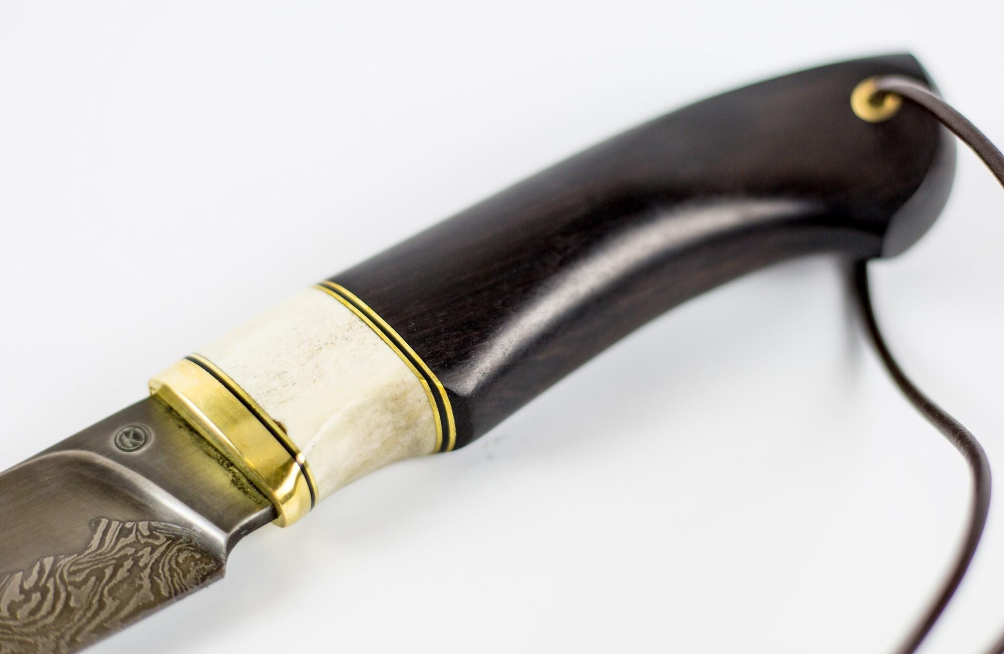 Фото 2 - Нож Зной, сталь углеродистый композит от Ножи Крутова