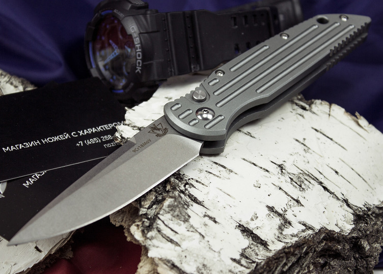 Фото 2 - Выкидной автоматический нож Кент от Steelclaw