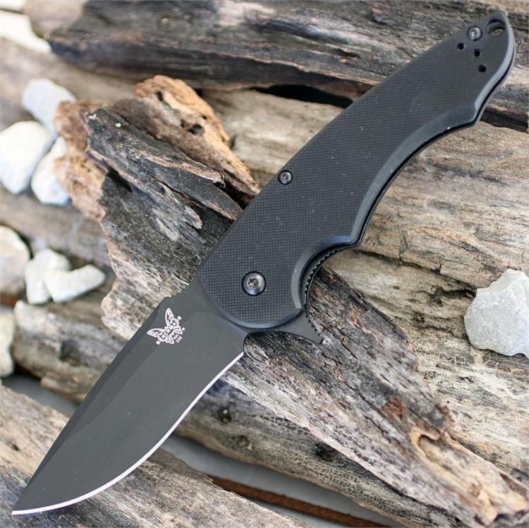 Нож складной Ball Precinct, сталь 154CM, черный