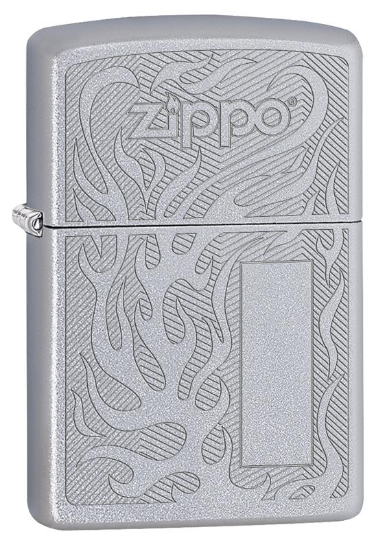 Зажигалка ZIPPO 29698 Satin Chrome бра b 977 2 satin chrome n light