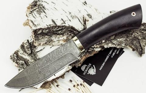 Нож Старатель, дамасская сталь - Nozhikov.ru
