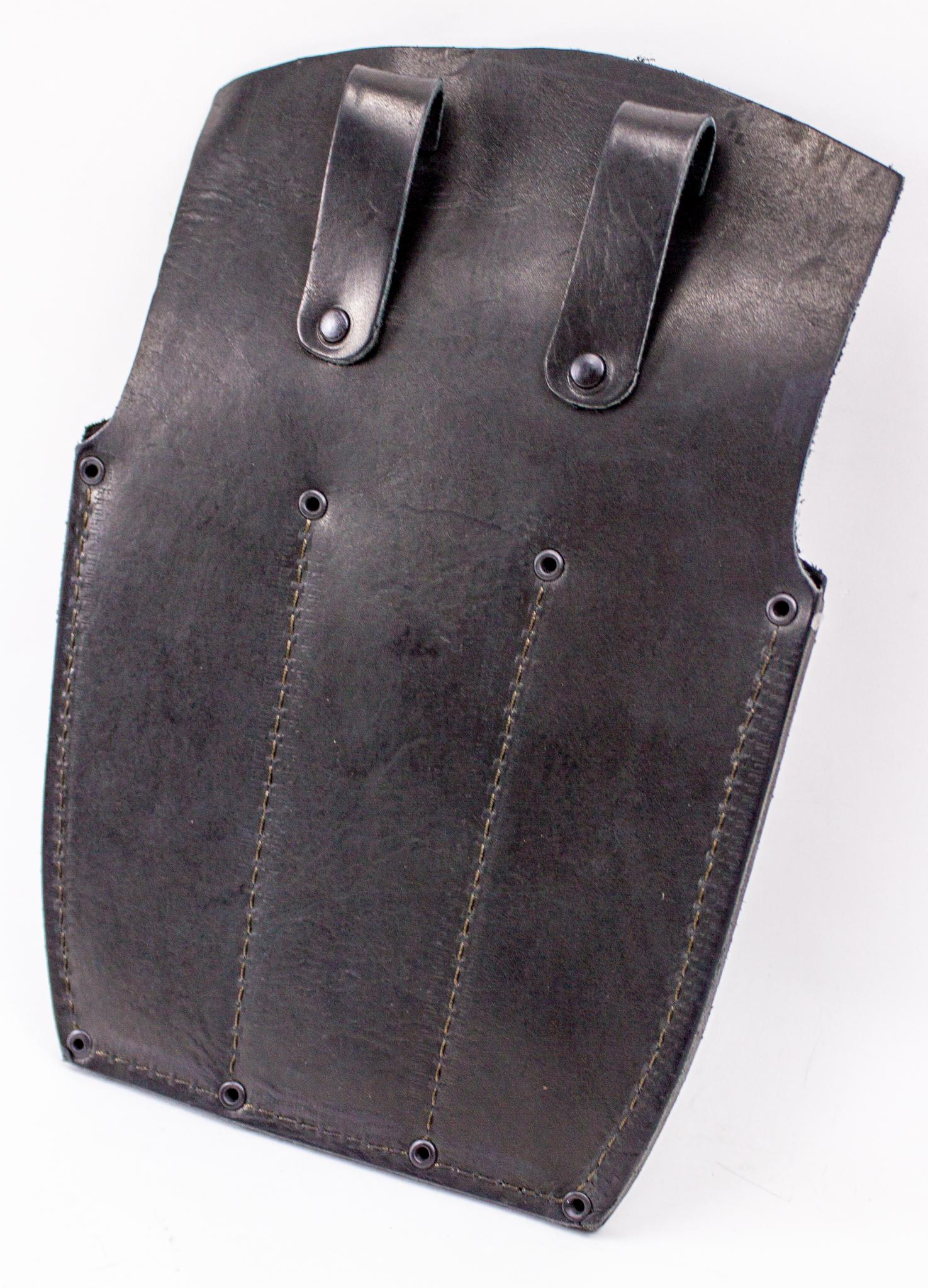 Фото 3 - Ножны-чехол для 3-х метательных ножей кожаные, черные