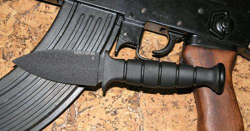 Нож Ontario Gen II SP46Ontario Knife Company<br>Нож Gen II SP46, сталь 1095, клинок черный, рукоять кратон.<br>