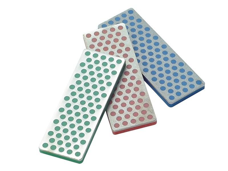 Набор из 3-х алмазных брусоков Coarse / Fine / Extra-Fine (45 micron / 325 mesh, 25 micron / 600 mesh, 9 micron / 1200 mesh) DMT/W7EFCБруски и камни<br>Набор из 3-х алмазных брусоков Coarse / Fine / Extra-Fine (45 micron / 325 mesh, 25 micron / 600 mesh, 9 micron / 1200 mesh) DMT/W7EFC<br>