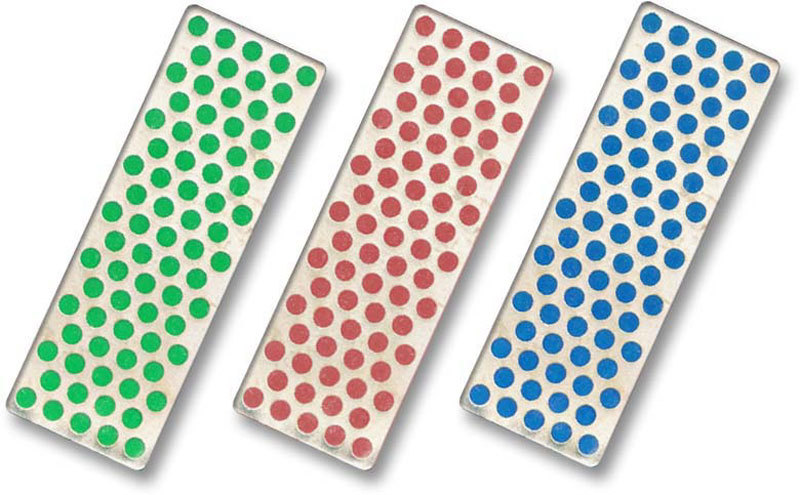Набор из 3-х алмазных брусоков Coarse / Fine / Extra-Fine (45 micron / 325 mesh, 25 micron / 600 mesh, 9 micron / 1200 mesh) DMT/W7EFC