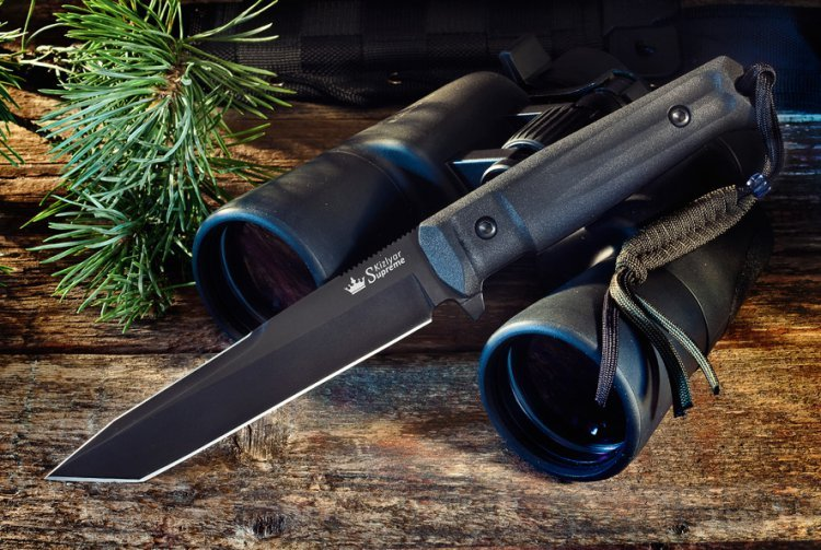 Тактический нож Aggressor AUS-8 BTНожи Кизляр<br>Дерзкий Aggressor, обладающий стремительным клинком в форме «танто» и дополнительной рубящей заточкой на обухе, имеет великолепную проникающую способность, мощное острие и прекрасные режущие свойства.Aggressor входит в новую серию Tactical Echelon, ориентированной на использование в спецподразделениях, а также отлично справляющейся с большинством нужд охотников, спасателей и других групп пользователей, ведь это прежде всего - надежные и функциональные ножи.<br>Характеристики:Полная длина 283Длина клинка 150Толщина клинка 4,7Ширина клинка 30Длина рукояти 133Толщина рукояти 20,5Материал клинка AUS-8Обработка клинка СатинТвердость 57-59 HRCМатериал рукояти KratonКомплектация Нож, чехол с многофункциональным креплением Molle, темляк, международный гарантийный талон, подарочная упаковка<br>