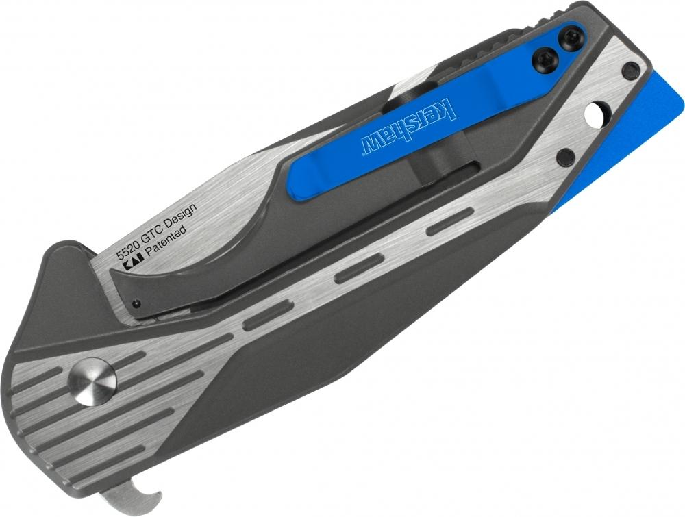 Фото 2 - Складной нож Malt - KERSHAW 5520, сталь клинка 8Cr13MoV, рукоять из нержавеющей стали