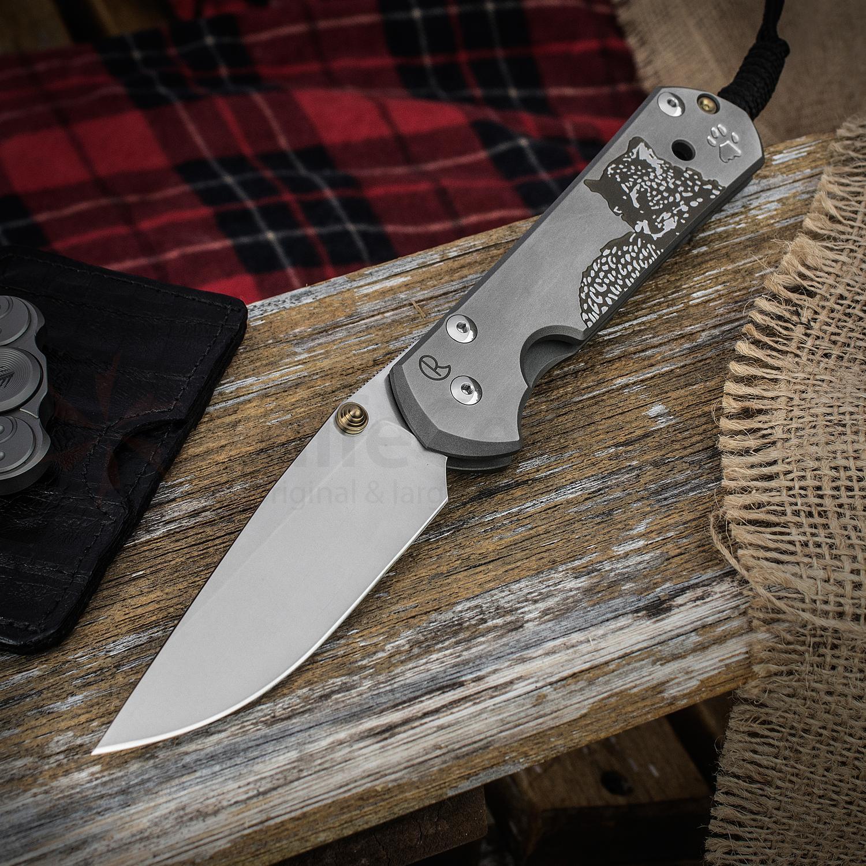 Фото 2 - Нож складной Chris Reeve Large Sebenza 21 CGG Leopard