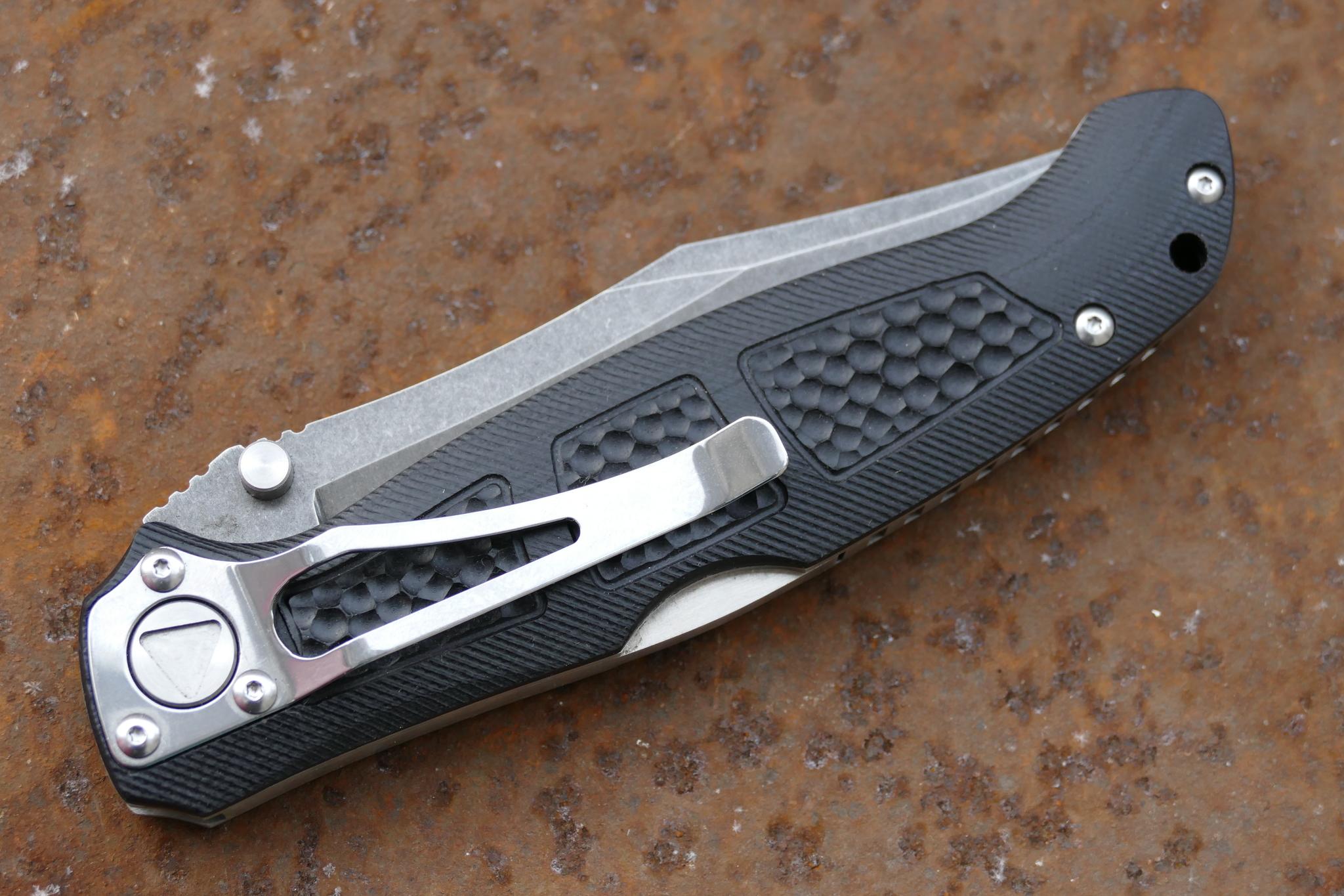 Фото 10 - Складной нож Брат 4, D2 от Steelclaw