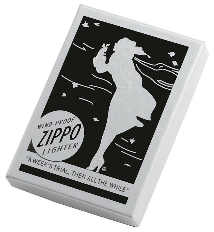 Фото 2 - Зажигалка ZIPPO Replica Brushed Chrome,латунь,ник.-хром.покрыт.,сереб.,матов., 36х56х12мм