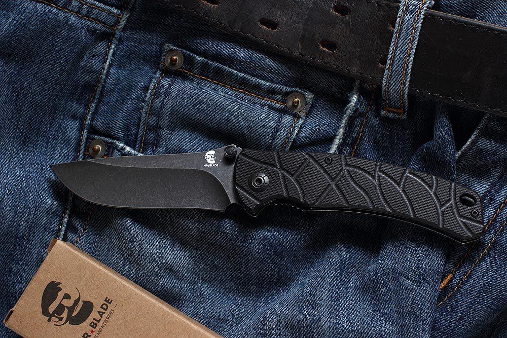 Фото 3 - Складной нож OSLAVA BLACK, Mr Blade от Mr.Blade