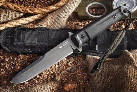 Нож Trident D2, Black Titanium - Nozhikov.ru